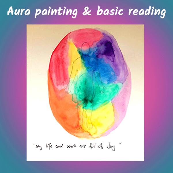 Aura Paintings & Basic Reading